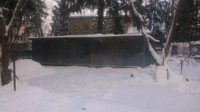Вольеры для передержки зимой